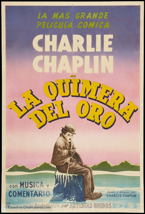 The Gold Rush - Argentinian Movie Poster