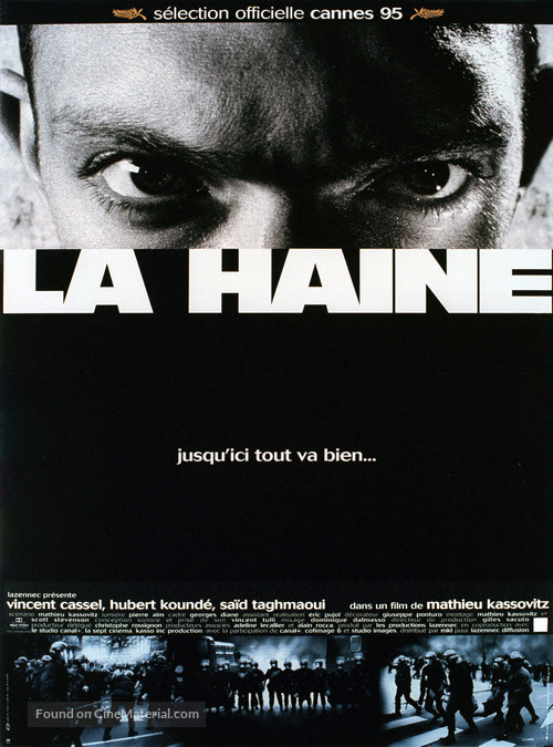 La haine - French Movie Poster