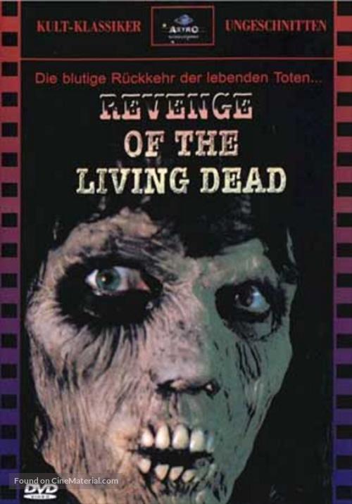 La revanche des mortes vivantes - DVD cover