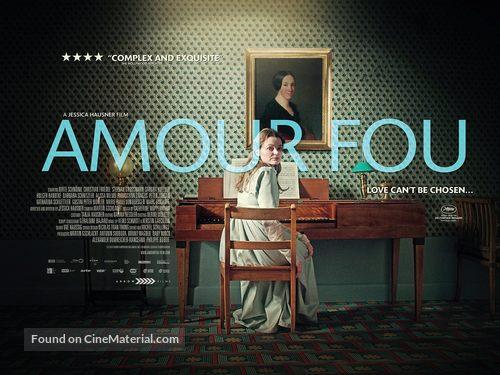 Amour fou - British Movie Poster