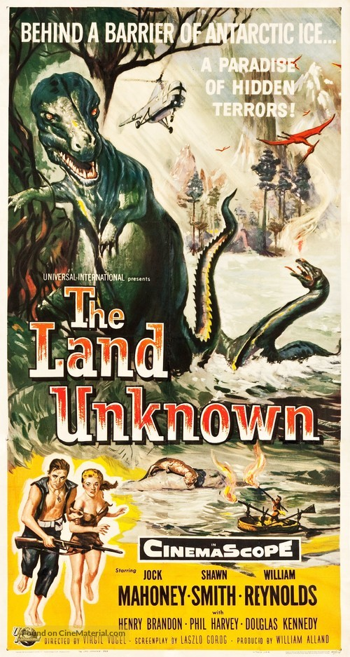 The Land Unknown - Movie Poster