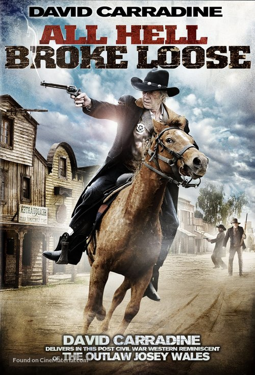 All Hell Broke Loose - DVD movie cover