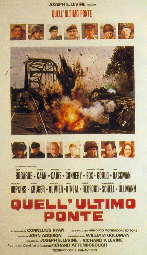A Bridge Too Far - Italian Movie Poster