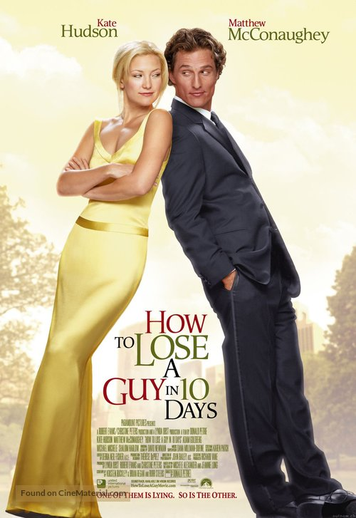 How to Lose a Guy in 10 Days - British Movie Poster