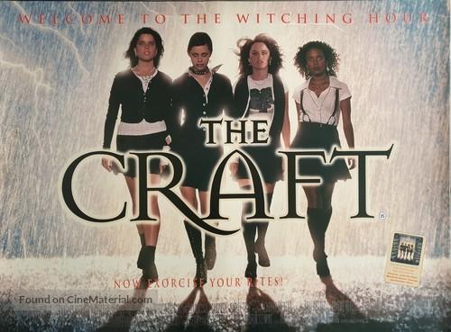 The Craft - British Movie Poster