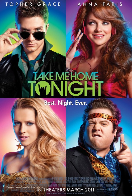 Take Me Home Tonight - Movie Poster
