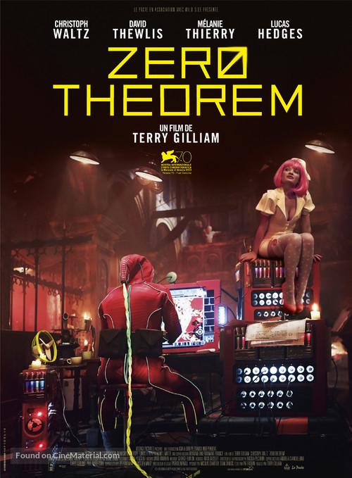 The Zero Theorem - French Movie Poster