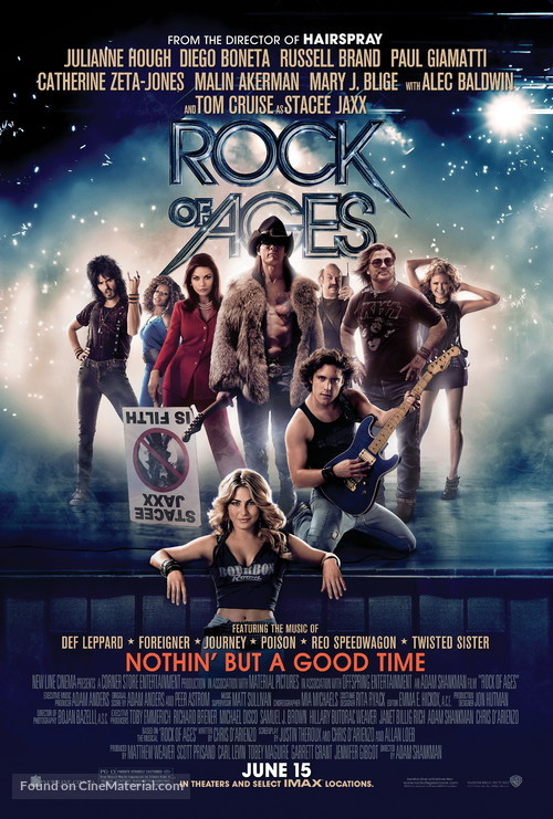 Rock of Ages - Movie Poster
