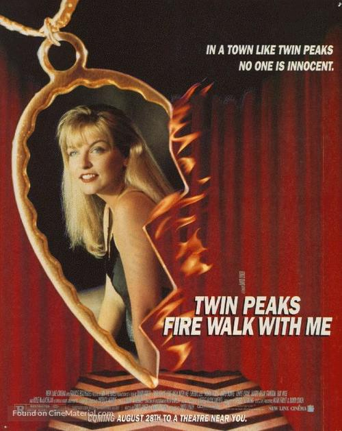 Twin Peaks: Fire Walk with Me - Advance movie poster