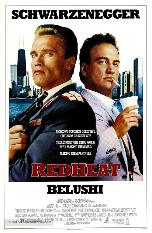 Red Heat theatrical poster