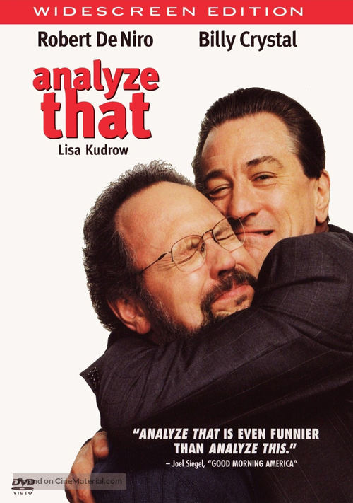 Analyze That - DVD movie cover