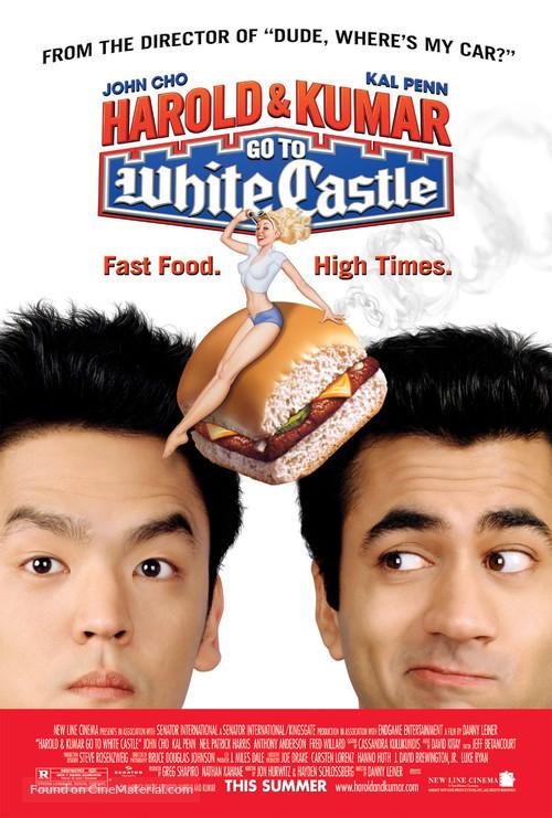 Harold & Kumar Go to White Castle - Movie Poster
