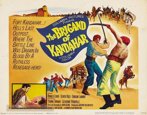 The Brigand of Kandahar - Movie Poster