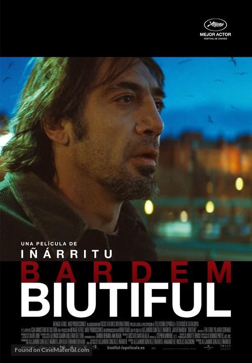 Biutiful - Spanish Movie Poster
