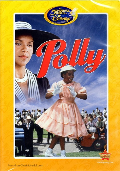 """Disneyland"" Polly - DVD movie cover"