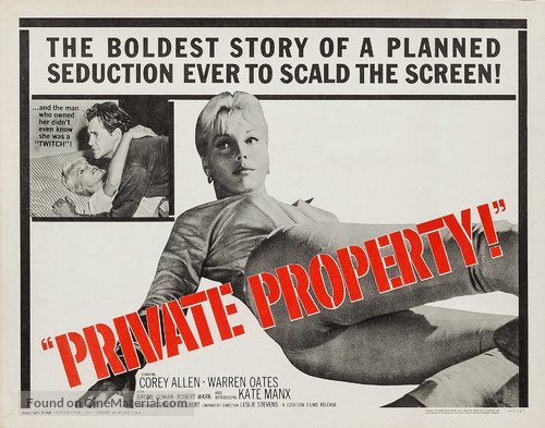 Private Property - Movie Poster
