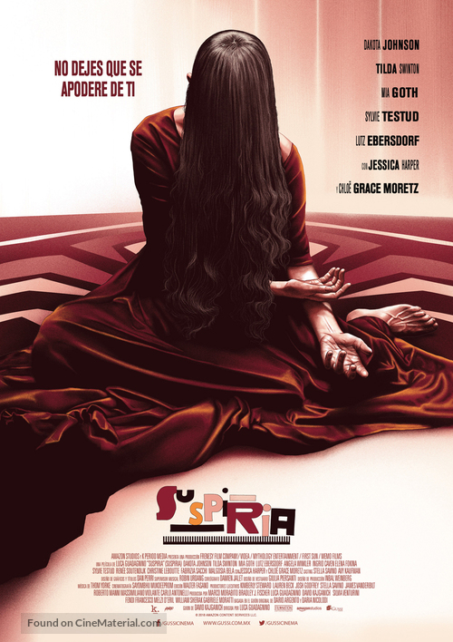 Suspiria - Mexican Movie Poster
