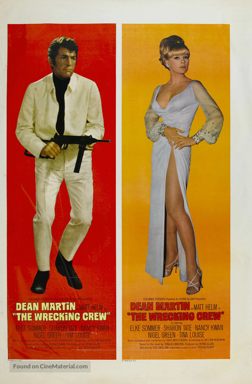 The Wrecking Crew - Movie Poster