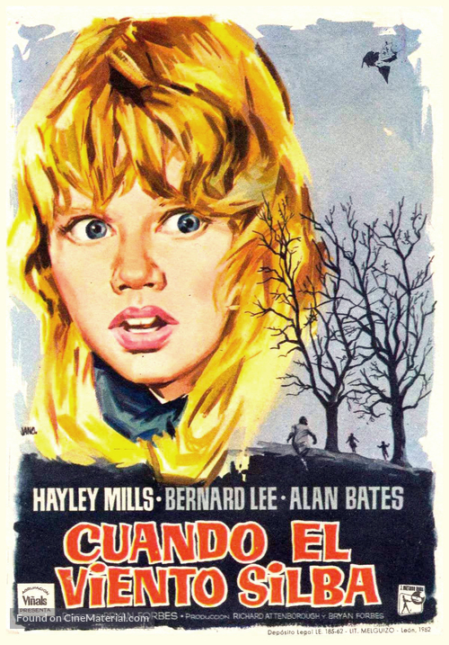 Whistle Down the Wind - Spanish Movie Poster