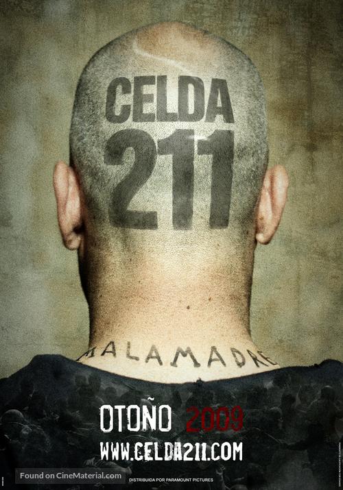 Celda 211 - Spanish Teaser movie poster