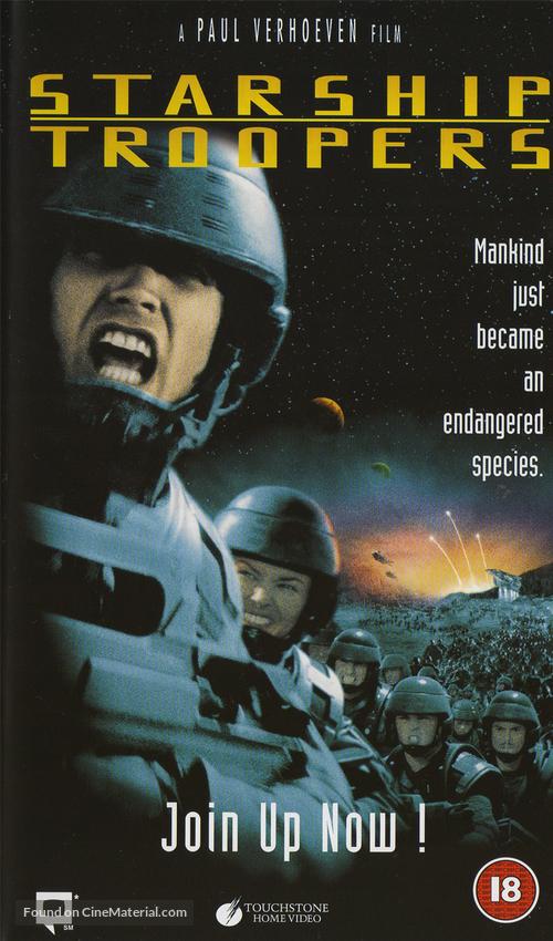 Starship Troopers - British Movie Cover
