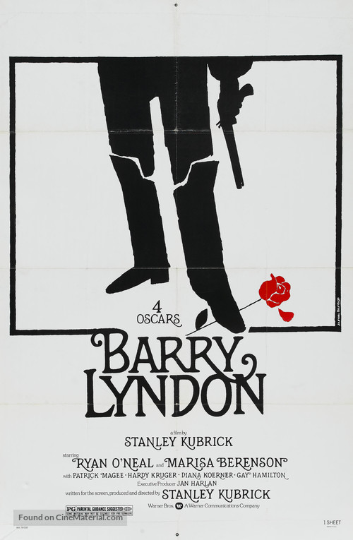 Barry Lyndon - Movie Poster