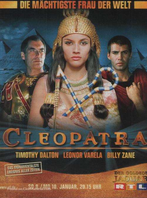 Cleopatra - German Movie Poster