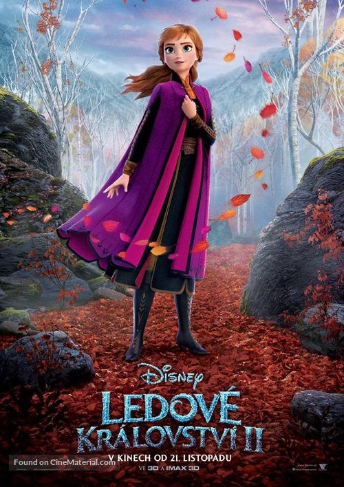Frozen II - Czech Movie Poster