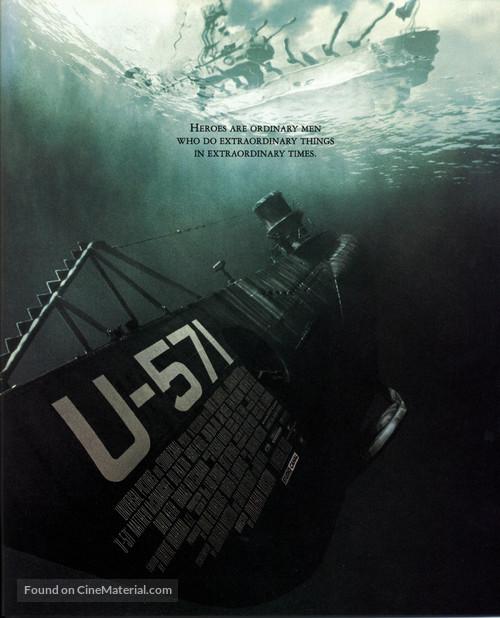 U-571 - Movie Poster