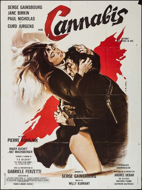 Cannabis - French Movie Poster