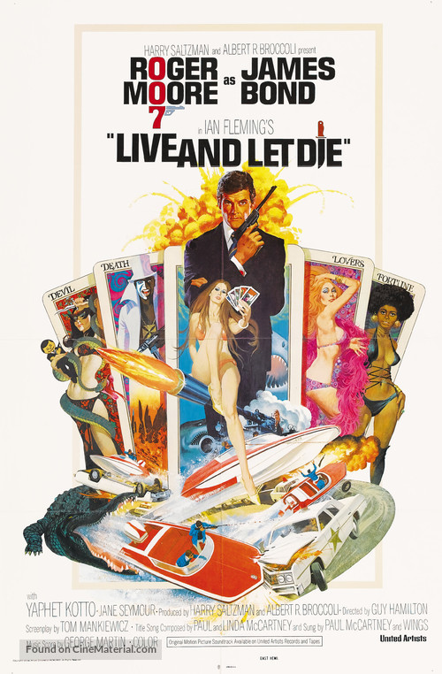 Live And Let Die - Movie Poster