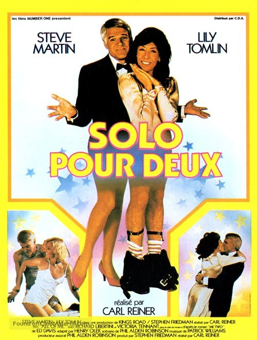 All of Me - French Movie Poster