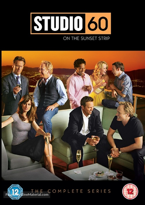 """Studio 60 on the Sunset Strip"" - British Movie Cover"