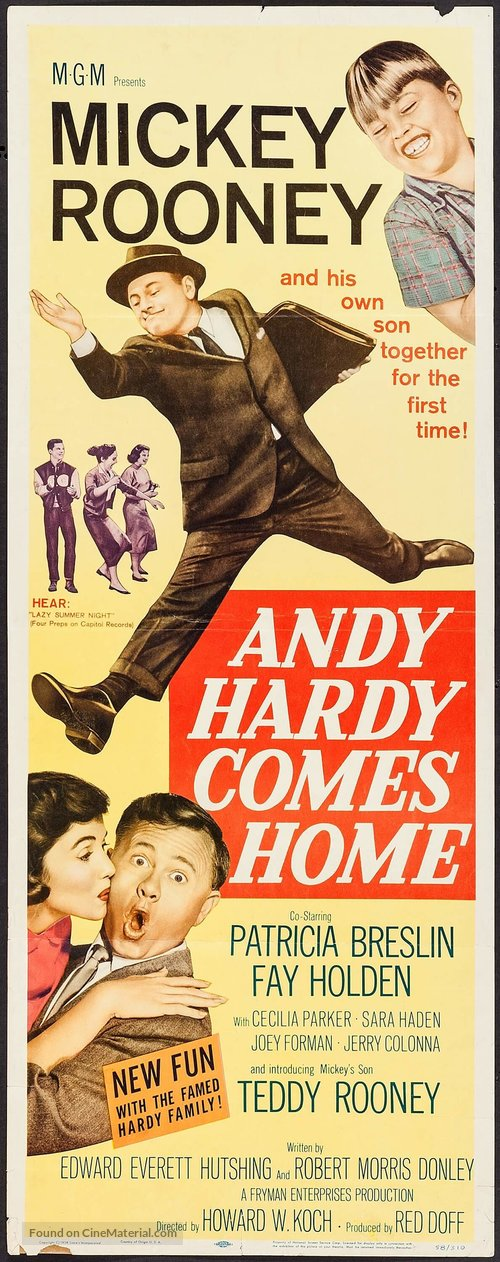 Andy Hardy Comes Home - Movie Poster