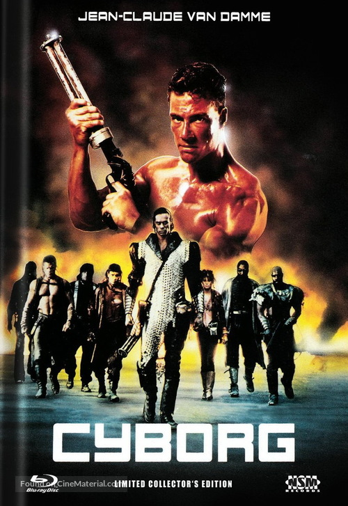 Cyborg - Austrian Movie Cover