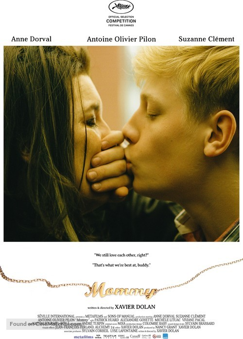 Mommy - Canadian Movie Poster