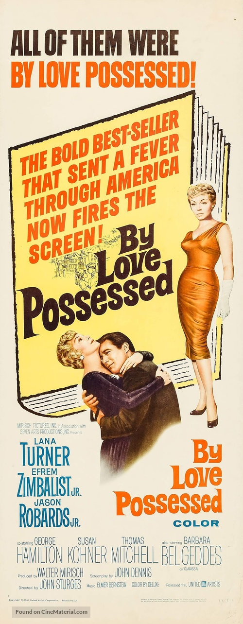 By Love Possessed - Movie Poster