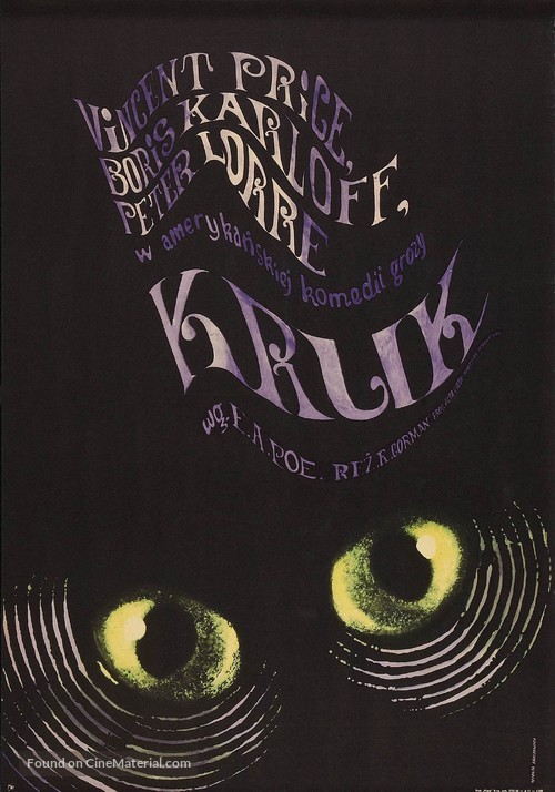 The Raven - Polish Movie Poster