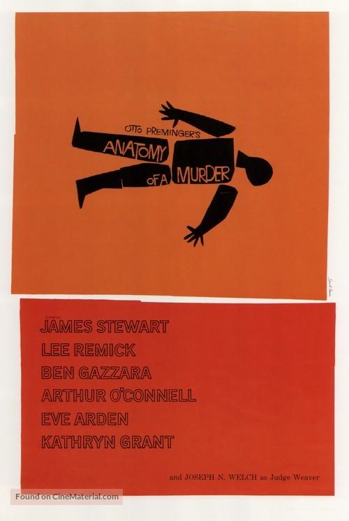 Anatomy of a Murder - Movie Poster