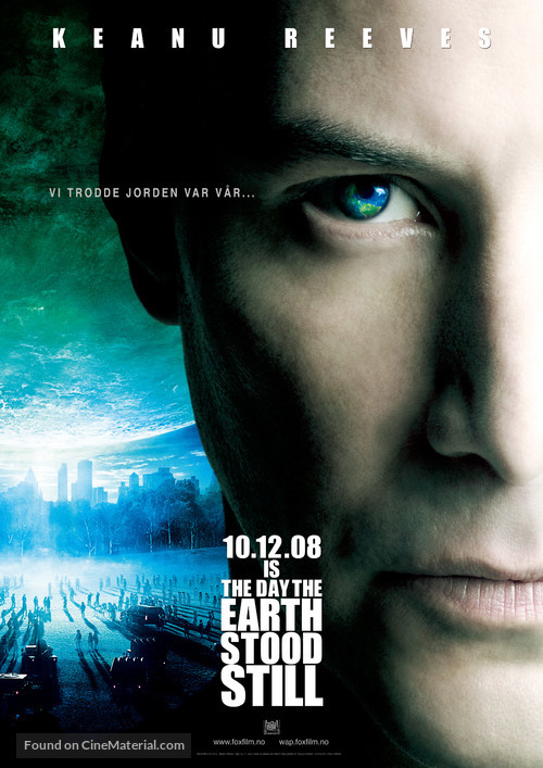 The Day the Earth Stood Still - Norwegian Movie Poster
