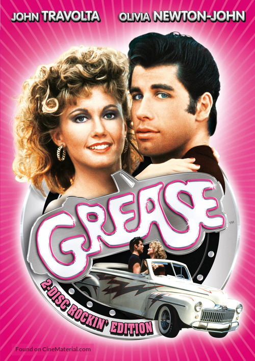 Grease - German Movie Cover