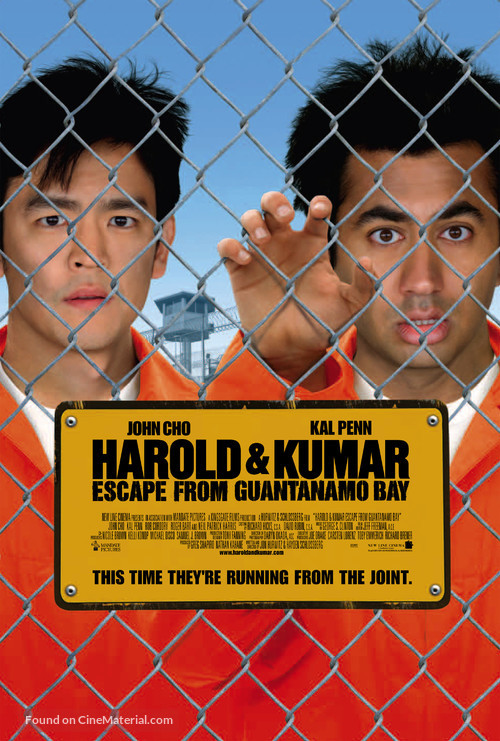 Harold & Kumar Escape from Guantanamo Bay - Movie Poster