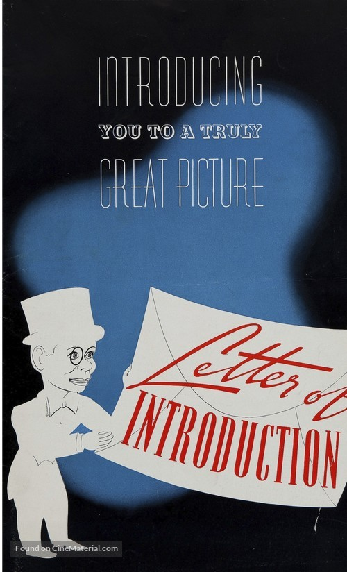Letter Of Introduction Movie from media-cache.cinematerial.com