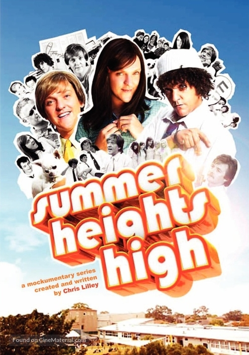 """Summer Heights High"" - Movie Cover"