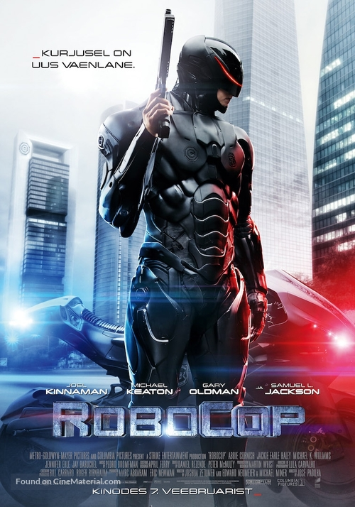 RoboCop - Estonian Movie Poster