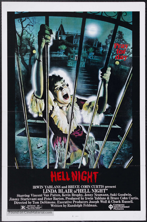 Hell Night - Movie Poster
