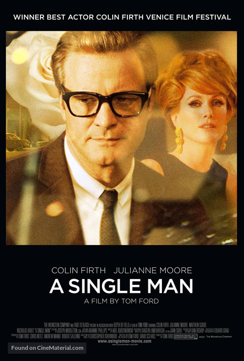 A Single Man - Theatrical poster