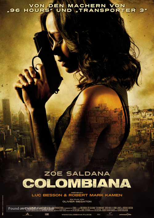 Colombiana - German Movie Poster