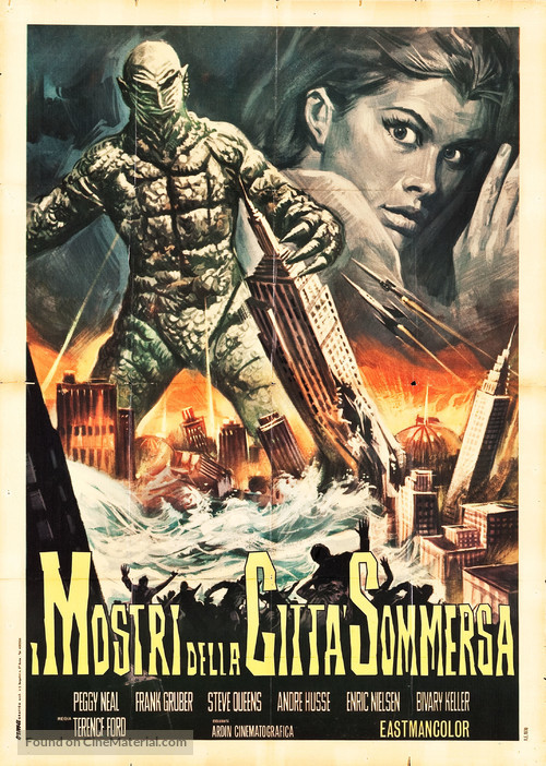 Kaitei daisenso - Italian Movie Poster