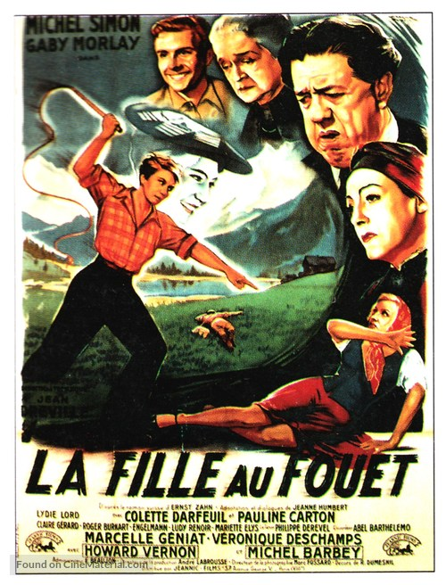 La fille au fouet - French Movie Poster